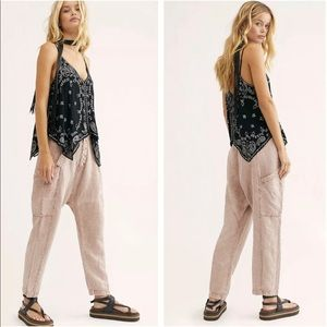 NWOT free people Desert Harem pants size 6